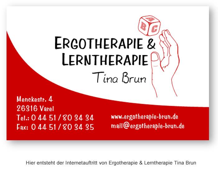 Tina Brun – Ergotherapie und Lerntherapie